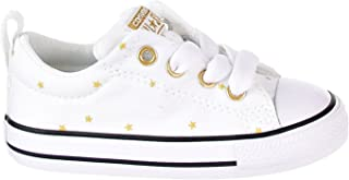 Converse Chuck Taylor All Star Street Slip Little Kid's Shoes White/Black 760874f