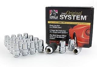 """Gorilla Automotive 71603N """"The System"""" Acorn Wheel Locks (14mm x 2.00 Thread Size) - For 5 Lug Wheels"""