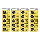 Toshiba CR2032 Battery 3V Lithium Coin Cell (20 Batteries)