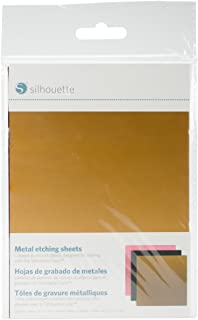 Silhouette America Etching Sheets, 5-x-7-Inch, Multi