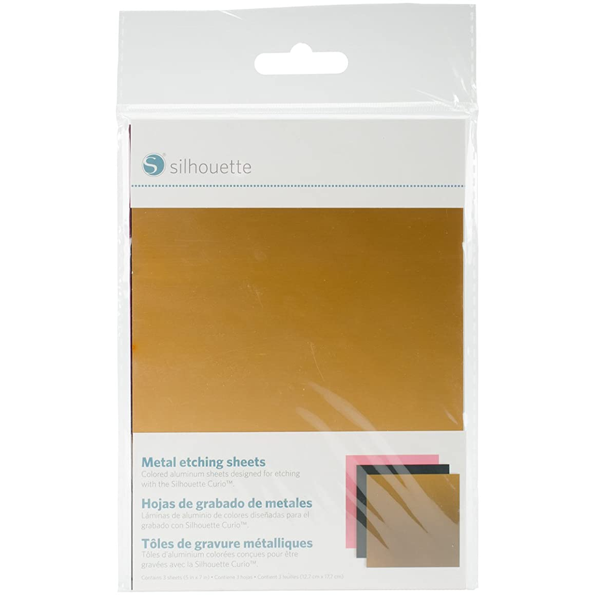 Silhouette Metal-Etch Metal Etching Sheets