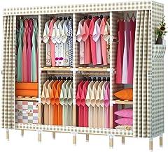 Portable Wardrobe Portable Wardrobe Closet Organizer Wardrobe Closet Shelves Quick and Easy to Assemble Clothing Storage C...