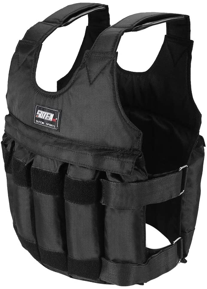Weighted Atlanta Mall Vest Lbs Adjustable SALENEW very popular! Workout bags w Body Weight 12