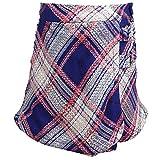 Janie and Jack Plaid Tweed Skirt Skirts, Skooters & Skort - 5 - Navy/Pink