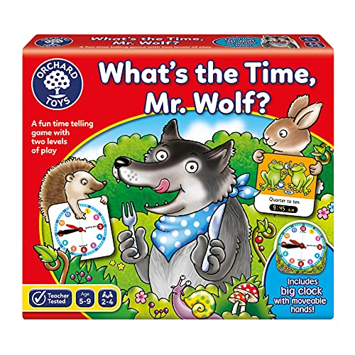 Orchard Toys What's The Time, Mr Wolf - Jeu (Version Anglaise)