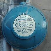 Coleman 202191 - Regulador de Gas 28mbar 800Gm/H