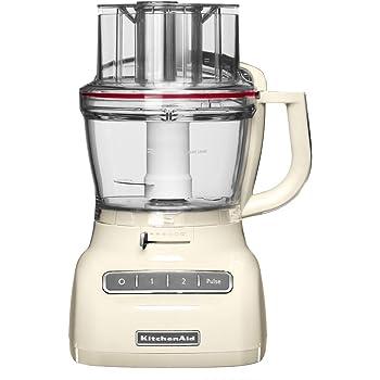 KitchenAid 5KFP1335EAC - Robot de cocina, con capacidad del tazón de 3.1 l, 220-240 V, 49 x 28 x 26 cm, color blanco: Amazon.es: Hogar
