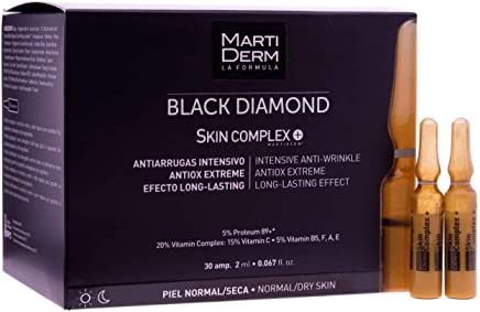 Martiderm Black Diamond Skin Complex Ampoules 30 units - Skin Care - Wrinkles Treatment - UV