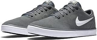 Mens SB Check Solarsoft Canvas Shoe (Black/Thunderstorm-White)