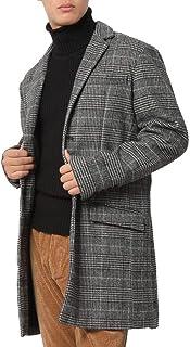 (アーケード) ARCADE コート メンズ ロング メルトン チェスターコート ステンカラーコート フード ビジネス 起毛