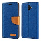 Oukitel K8000 Case, Oxford Leather Wallet Case with Soft