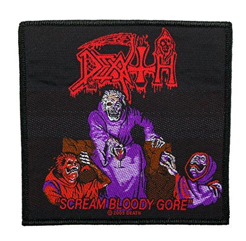 Unbekannt Death Aufnäher - Scream Gloody Gore - Death Patch - Gewebt & Lizenziert !!