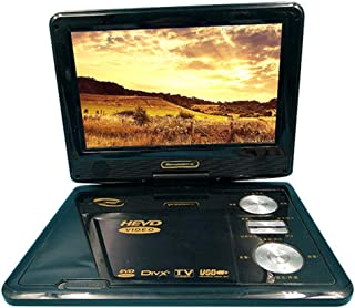 Portable DVD Player 9-inch Portable DVD TV, High-Definition LCD Display, Mobile EVD, Theater/Learning Machine
