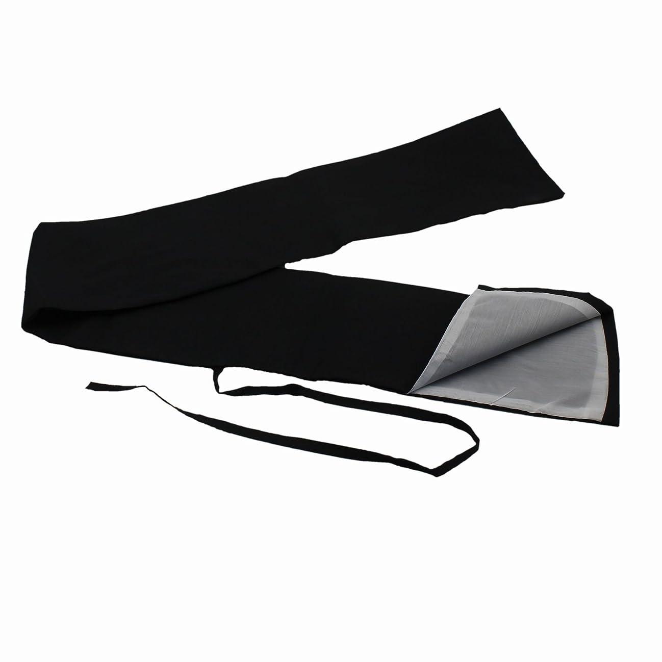 パーチナシティ議題加入JomMart 刀袋 黒色 内側 白色 中 、日本刀?模造刀?竹刀の保管?収納 HB0306
