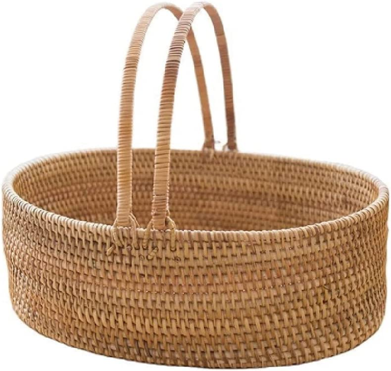 SDHKE Sales Simple Rattan Shopping Living New Free Shipping Room Basket Picnic
