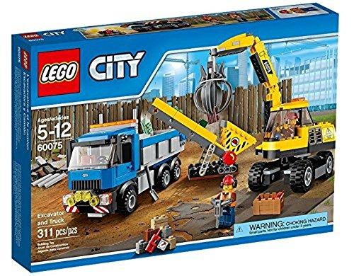 LEGO City Demolition - Excavadora para la demolición (60075)