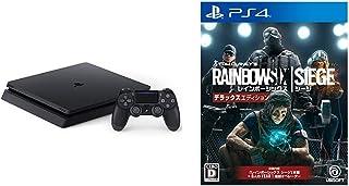 PlayStation 4 ジェット・ブラック 1TB + レインボーシックス シージ デラックスエディション - PS4 セット