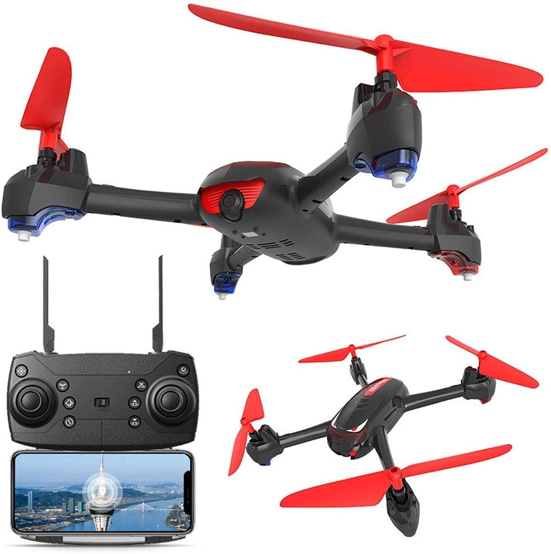 LWRJQC Pieghevole Drone Greangolare Selfie modalità di Attesa in Altitudine Teletelecamera WiFi FPV HD 1080P App Mobile Controllo
