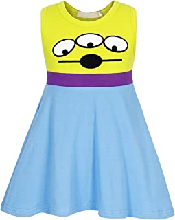Girls Toddler Jessie Costume Dress Jessie Dress Up Halloween Costume Fancy Dress 1-10 Years
