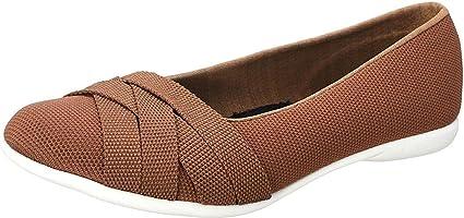 حذاء فلات برباط امامي ملفوف ونعل مختلف اللون للنساء من ساليرنو