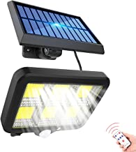Solar Outdoor Light Motion Sensor Wall Lights Street Light Wired Security Flood Lights with 5 meter Cable Adjustable Solar...