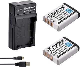 Newmowa NP-95 Batería (2-Pack) y Kit Cargador Micro USB portátil para Fujifilm FinePix F30 FinePix F31fd FinePix Real 3D W1 FinePix X100 FinePix X30 FinePix X100T FinePix X100LE