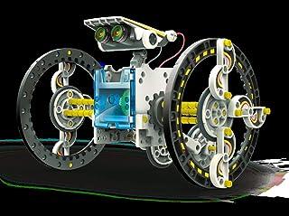 """Elenco Teach Tech """"SolarBot.14"""", Transforming Solar Robot Kit, STEM Learning Toys for Kids 10+"""