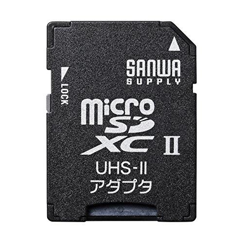 サンワサプライ microSDアダプタ ADR-MICROUH2