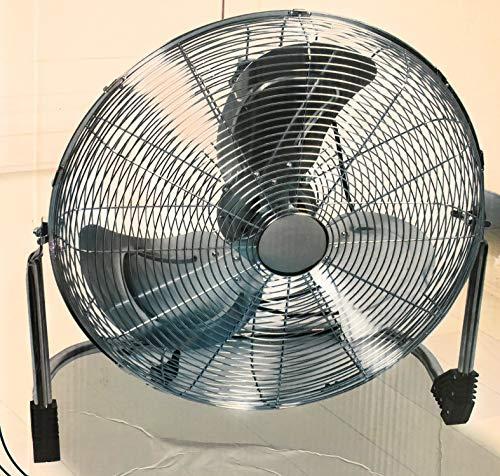 Enrico Coveri Ventilatore professionale da tavolo o a parete maxi diam. 50 cm. 67x21x67h