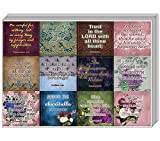 Vintage Religious Stickers for Women Series 1 (5-Sheet) - Perfect Giveaways for Women's Seminar and Ministries