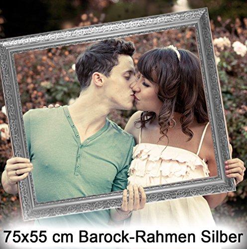 Bilderrahmen Hochzeit Hochzeitsrahmen für lustige Hochzeitsfotos, lustige Hochzeitsspiele und als Photo Booth Zubehör. Bilderrahmen zur Hochzeit leicht und edel in Silber