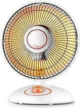 LYATW Calentador Hogar Calentador de Tubo halógeno ahorrador de energía Estufa de calefacción de Mini Velocidad pequeña Ventilador eléctrico para Oficina