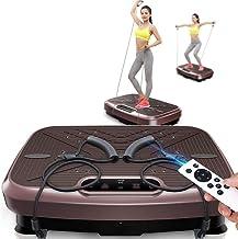 Fitness Vibration Plate Home, Slimming Body,Shiatsu Massage Professional, High Power Silent Motor Intelligent Remote Contr...