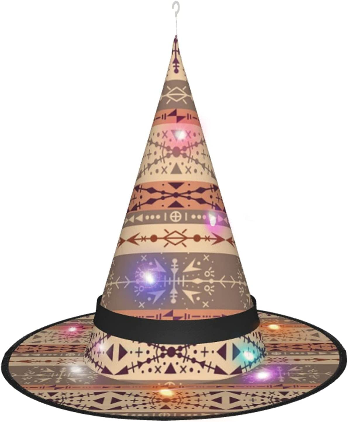 Brown Tribal with Louisville-Jefferson County Mall Ethnic Halloween Party Oakland Mall Hat Witch Decoration Le