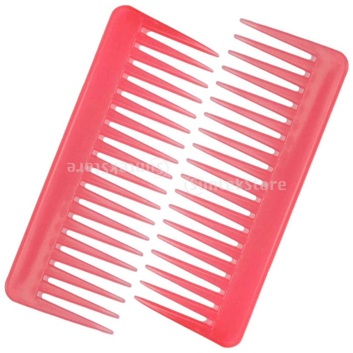 倍率鎮静剤水没Perfeclan 2個セット 静電防止くし 広い歯 櫛 サロン ヘアブラシ ヘアスタイリング