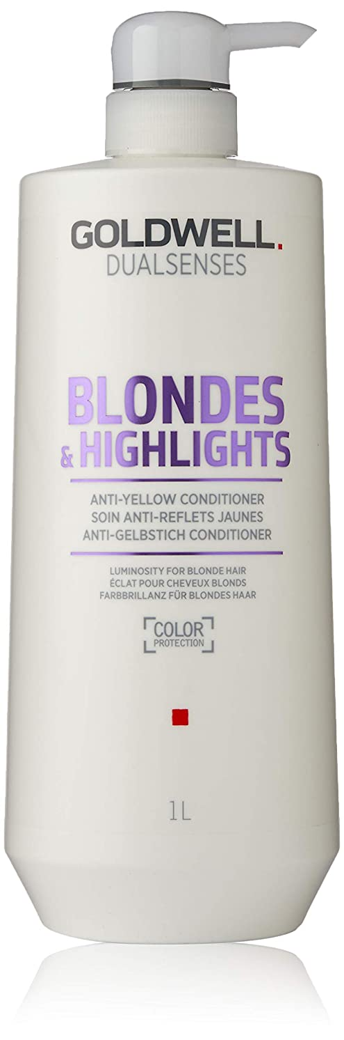 に向けて出発ペナルティ染料ゴールドウェル Dual Senses Blondes & Highlights Anti-Yellow Conditioner (Luminosity For Blonde Hair) 1000ml