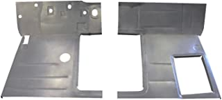 Motor City Sheet Metal - Works With 1947 1948 1949 1950 1951 1952 1953 1954 CHEVY PICKUP TRUCK FRONT FLOOR PANS PAIR