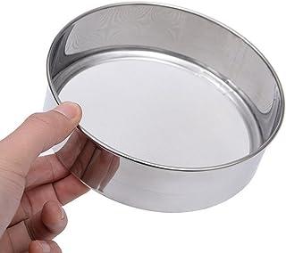 wsloftyGYd Professinal Kitchen Stainless Steel Flour Mesh Sugar Powder Sifter Strainer Flour Sieve Baking Tools Durable Ac...