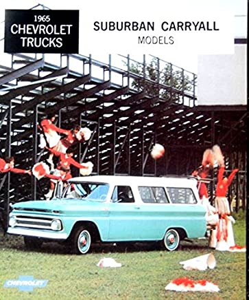 a must for owners & restorers - the 1965 chevy suburban carryall & panel  truck dealership