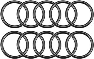 uxcell Nitrile Rubber O-Rings 23mm OD 18mm ID 2.5mm Width, Metric Buna-N Sealing Gasket, Pack of 10