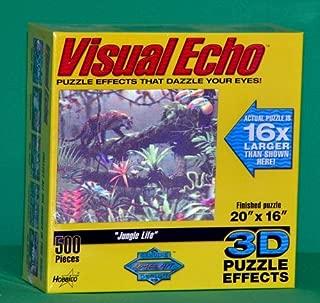 Visual Echo 3D Effect Jungle Life 500pc Puzzle