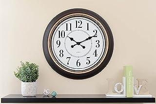 Pan Emirates Nessa Wall Clock, Black - Dia63cm
