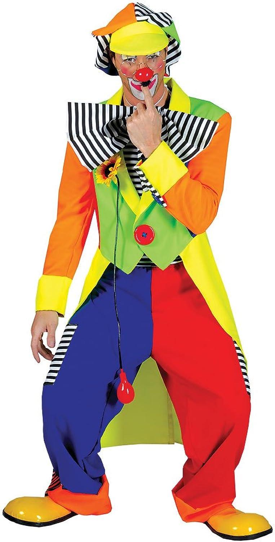 la calidad primero los consumidores primero Spanky Stripes Adult Clown Lg Lg Lg  n ° 1 en línea