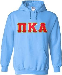 Pi Kappa Alpha Lettered Hooded Sweatshirt