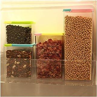 zhoufeng Cuisine étanche Réservoir Boîte de Rangement des Aliments Conservation Simple réservoir Multi-Grains Couvercle en...