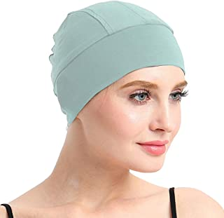 FocusCare Bamboo Sleep Cap for Hair Loss Home Head Cover for Chemo Women
