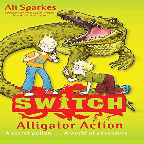 Alligator Action audiobook cover art