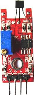 6x linear Hall efecto sensor 49e 12x imán neodymium 4x3mm lectura ángulo de distancia