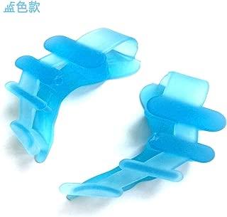 2pcs Gel Silicone Bunion Corrector Toe Separators Straightener Spreader Foot Care Tool Hallux Valgus Pro Massager Tool,Blue
