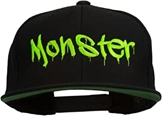 e4Hats.com Halloween Monster Embroidered Snapback Cap